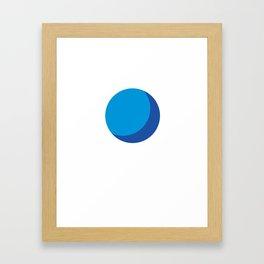 Crescent moon #4 Framed Art Print