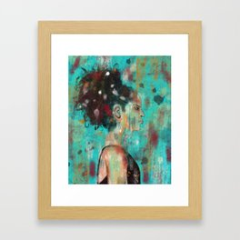 Dancing Abstract #Painting Framed Art Print