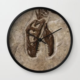 Rex Chomp Wall Clock