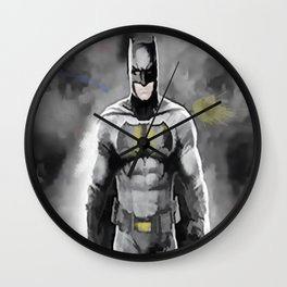Superheroes 1 Wall Clock