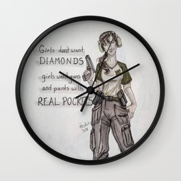 What a Girl Wants Wall Clock