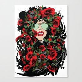 Sweet Vampire Canvas Print