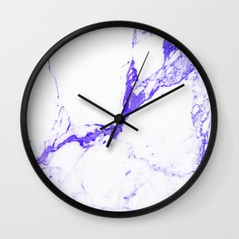 ultra violet Wall Clock