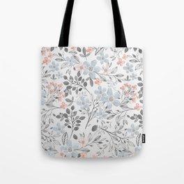 floral background Tote Bag