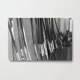 Archery Practice Metal Print