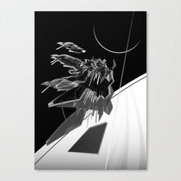 Fly Architecture! Canvas Print