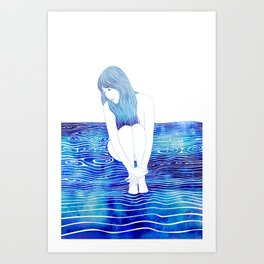 Galateia Art Print