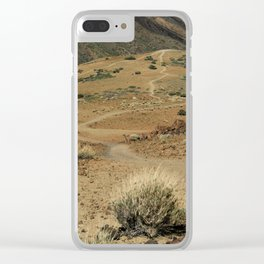 The Yellow Brick Road Clear iPhone Case