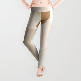 PADRONA DI SÉ - Be the Master of Yourself - Modern abstract art Leggings