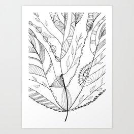 Amazing Leaves Art Print