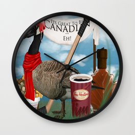 Canadian ... Eh Wall Clock