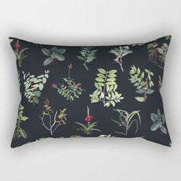Green Nature at Night Rectangular Pillow