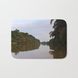 Jungle View of The Pacuare River Bath Mat