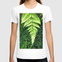 fern T-shirts featuring Fern  by ArtistsWorks
