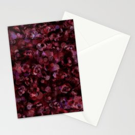 Holiday Berry Joy Abstract Stationery Cards