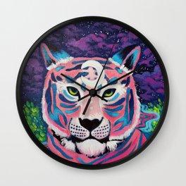 Moon River Tiger Wall Clock