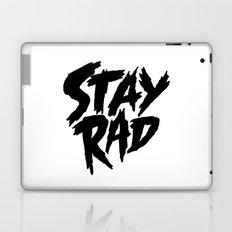 Stay Rad (on White) Laptop & iPad Skin