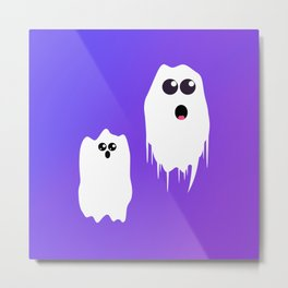 GHOSTY Metal Print