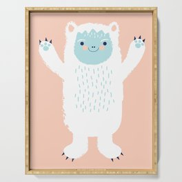 Yeti Be Friends! Serving Tray