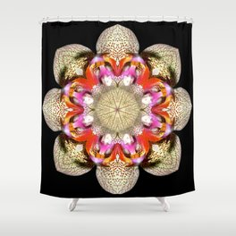 Orchidstration Shower Curtain
