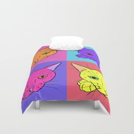 What's New Pussy Cat Duvet Cover