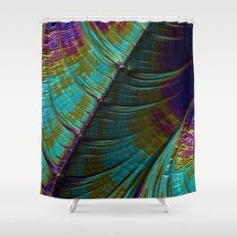Color Wave Shower Curtain