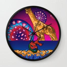 A Late NIght Dip in the Sea Wall Clock