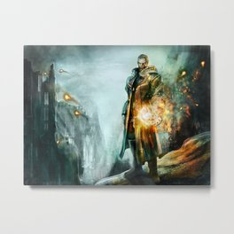 Warrior of the day Metal Print