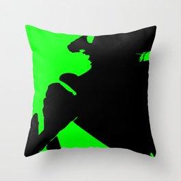 Abstract Hornet Throw Pillow