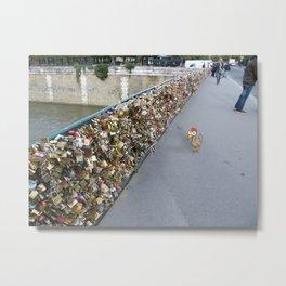 Those days in Paris (2) Metal Print
