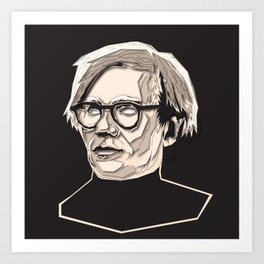 Andy Immortalized Art Print