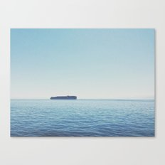 Somewhere in the Pacific Canvas Print
