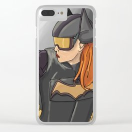 Batgirl Clear iPhone Case