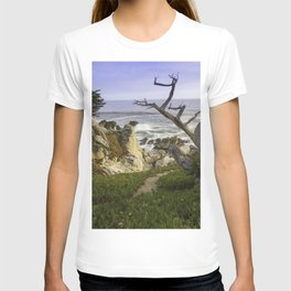 Bird Tree overlooking Big Sur T-shirt