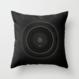 Inner Space 4 Throw Pillow