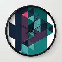 color story - macrocosm Wall Clock