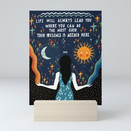 Do the most good Mini Art Print