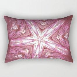 Blood Spindle Rectangular Pillow