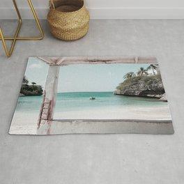 Blue Lagoon Beach Dream #2 #wall #decor #art #society6 Rug