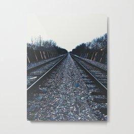 Vanish That Point. Metal Print