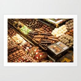 Chocolate Heaven, Barcelona Art Print