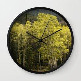 Where Love Grows Wall Clock