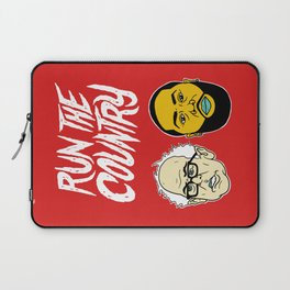 Run The Country Laptop Sleeve