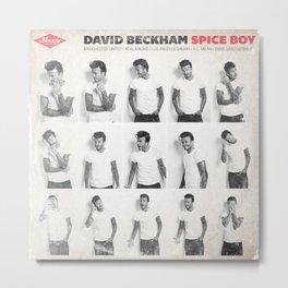 LPFC: David Beckham Metal Print