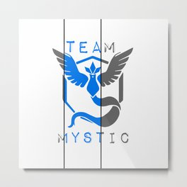 Team MYSTIC Metal Print