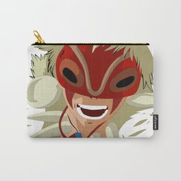 Head of Princess Mononoke Hime Anime Carry-All Pouch