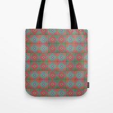 Colonial Rug Pattern Tote Bag