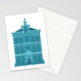 Blue House in Holland Stationery Cards