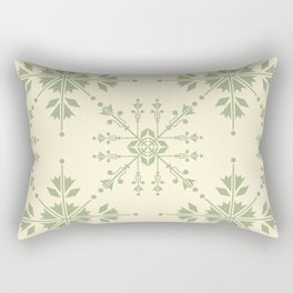 Seamless Colourful Ornament Tiles Rectangular Pillow