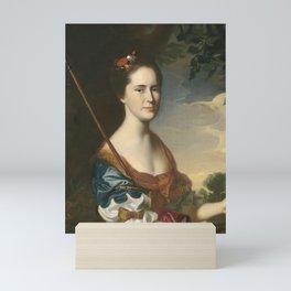 John Singleton Copley - Elizabeth Gray Otis (Mrs Samuel Alleyne Otis) Mini Art Print
